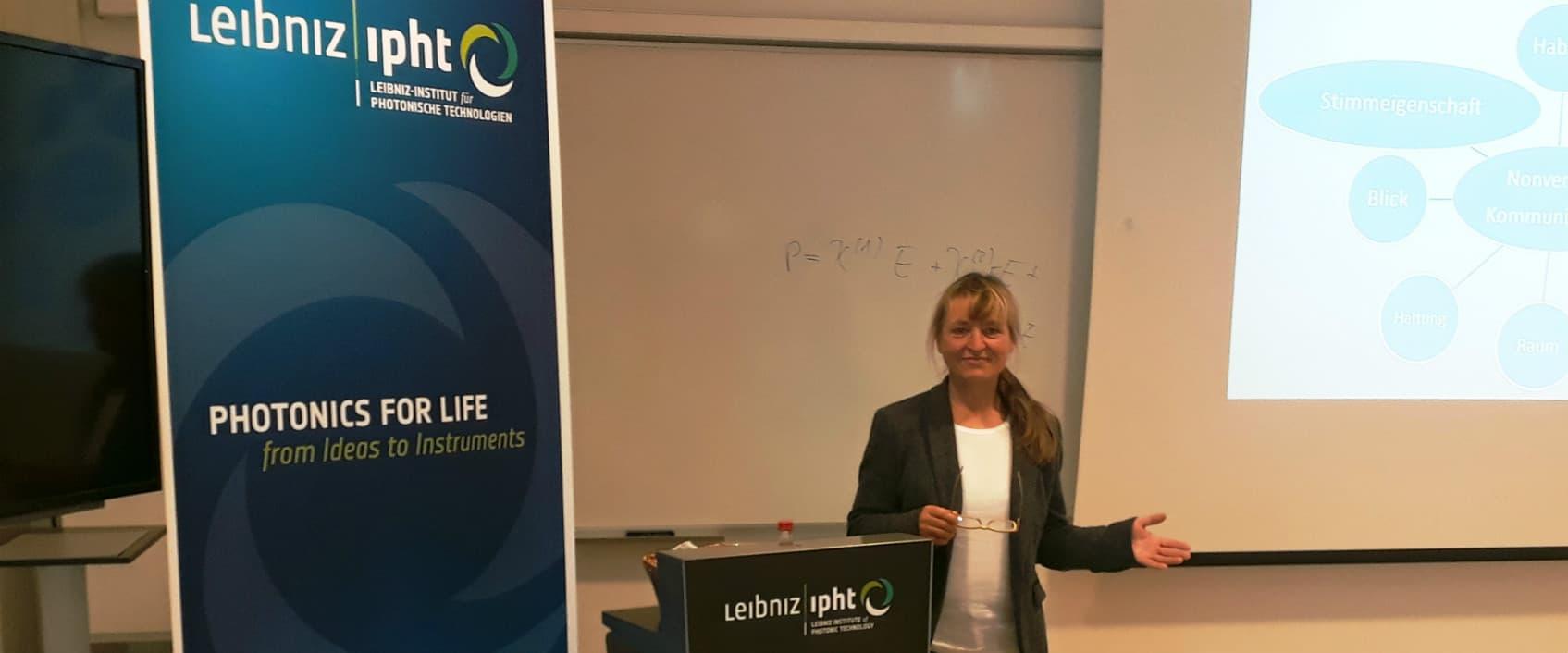 Kommunikationstrainerin Cornelia Plänitz aus Leipzig