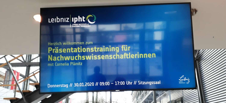 Präsentationstraining Leipzig